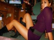 En robe courte - Beurette du bled