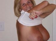femme nue - Vieille 60 ans
