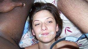 Amatrice de sperme et grosse bite black