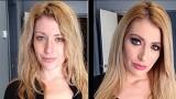 Actrices porno AVEC et SANS maquillage